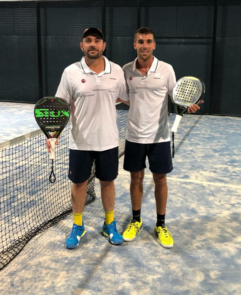 Aitor Garcia Bassa y Jordi Muñoz Baixas en el campeonato de España por equipos de 2da catagoría