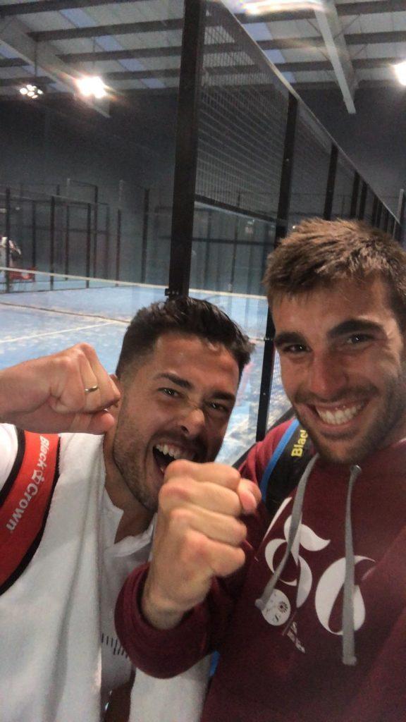 Aitor Garcia Bassas junto a JUAN LUIS BLANCO PERALTA