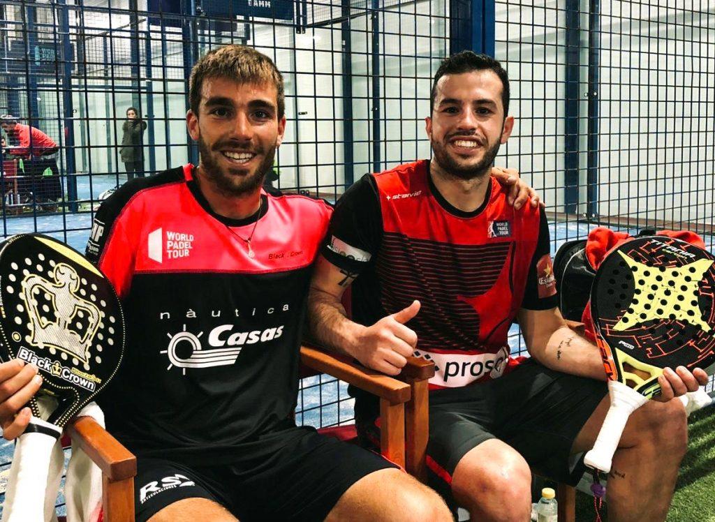 Aitor Gracia Bassas y David Garcia Campos en Worls Padel TourAlicente
